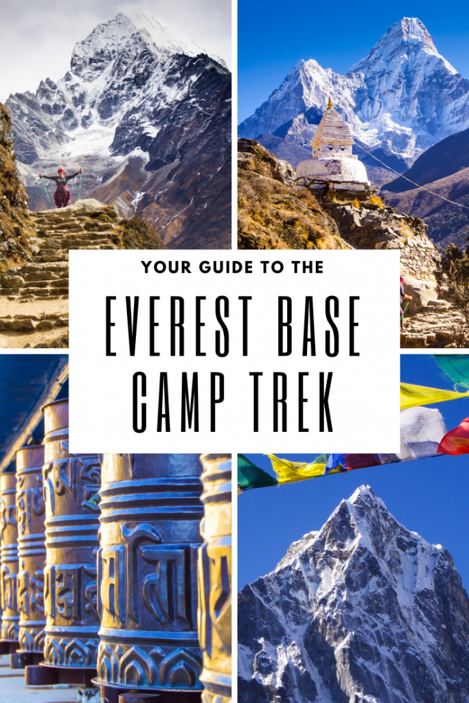Your guide to the everest base camp trek