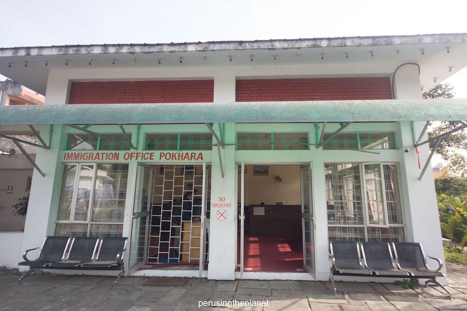 Immigration office pokhara extending tourist visa