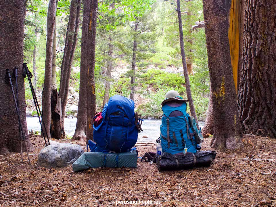 pacific crest trail budget gear