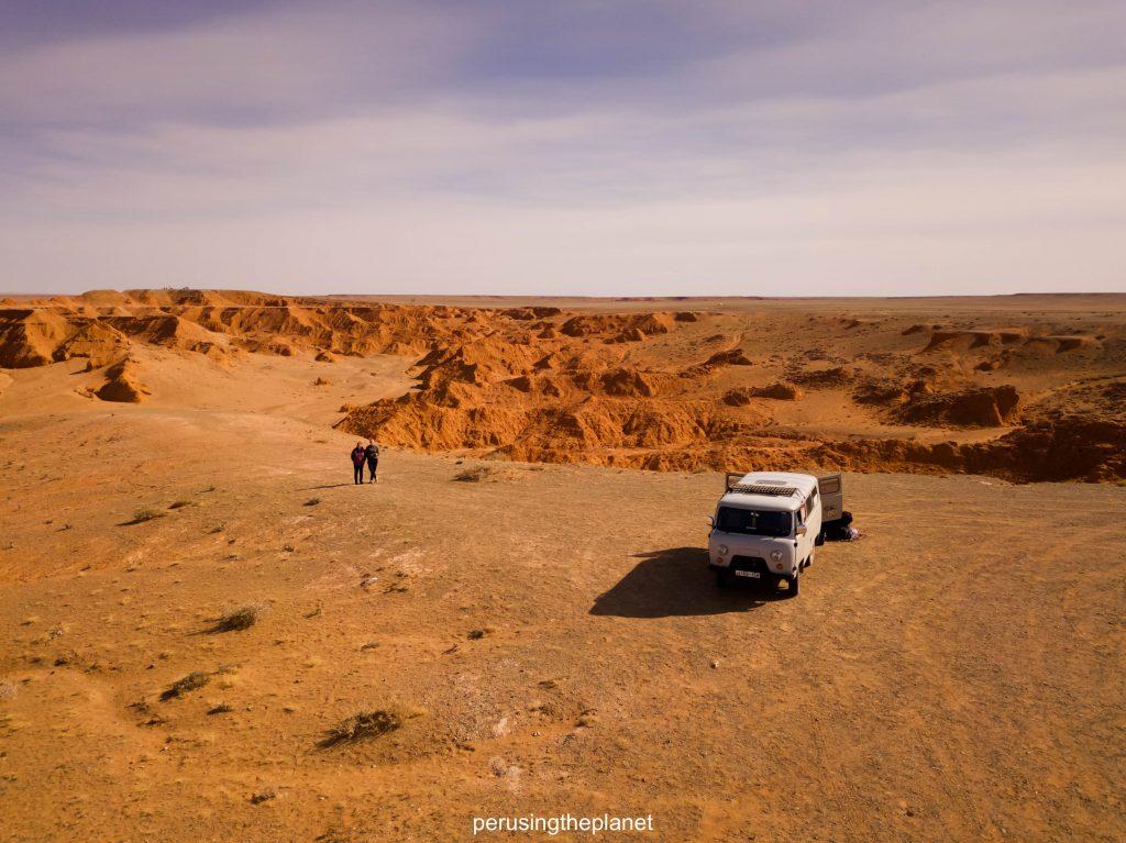 Independent Gobi Desert Tour - flaming cliffs
