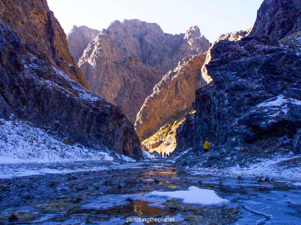 Independent Gobi Desert Tour - ice valley