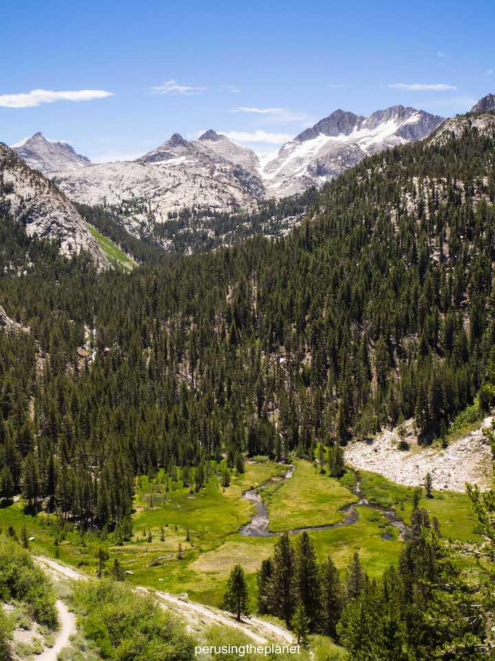 pacific crest trail scenery