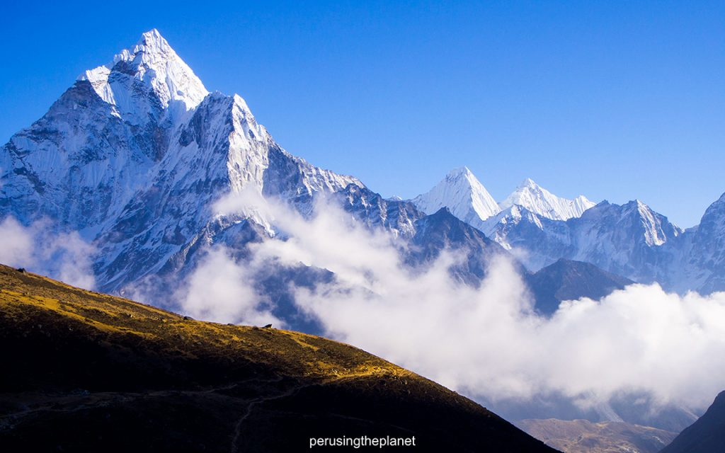 Incredible views on the Everest Base Camp trek.