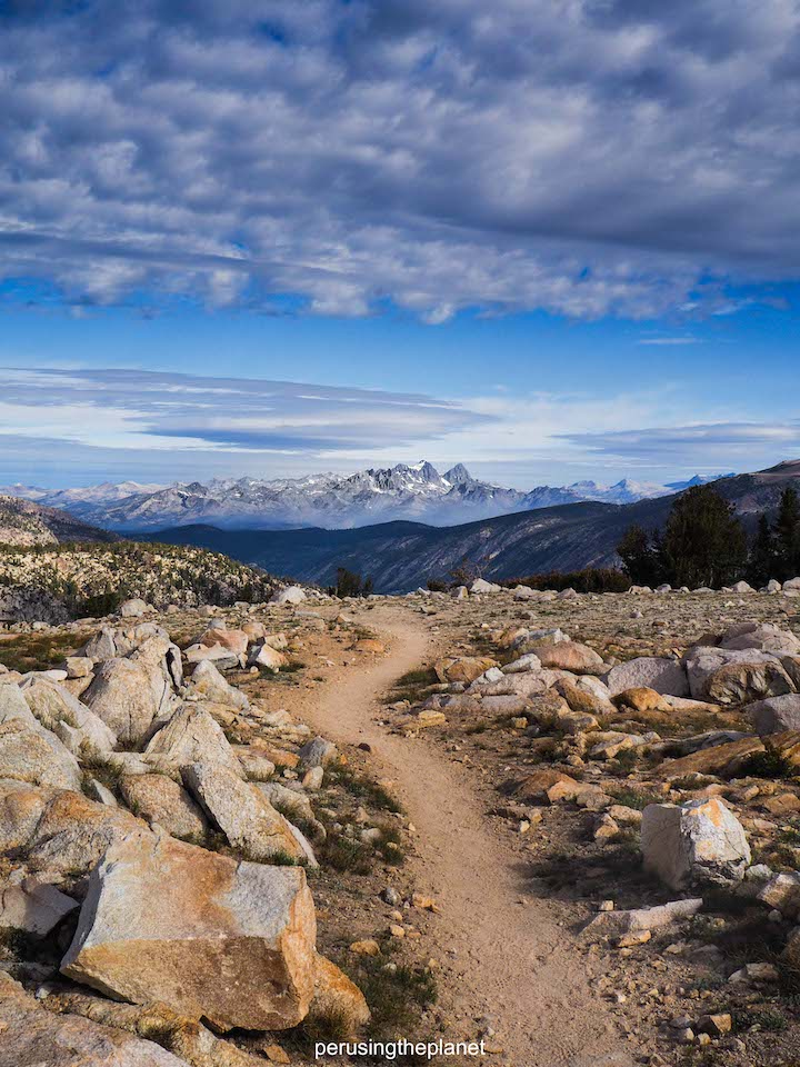 path to mountain pacific crest trail