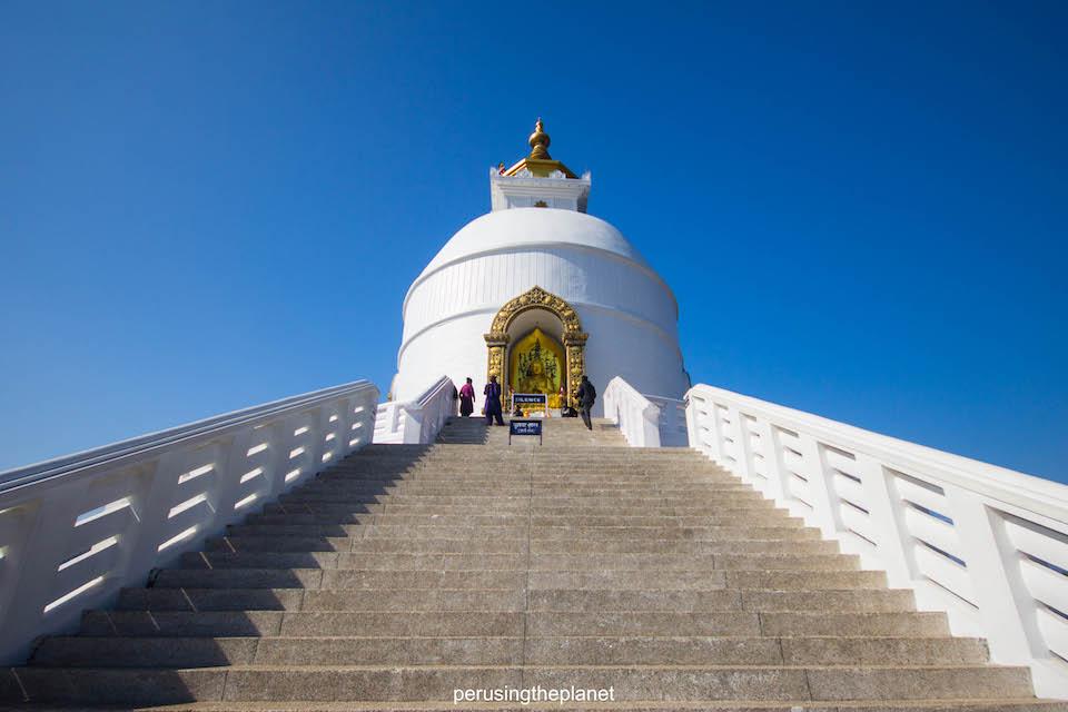 pokhara peace pagoda
