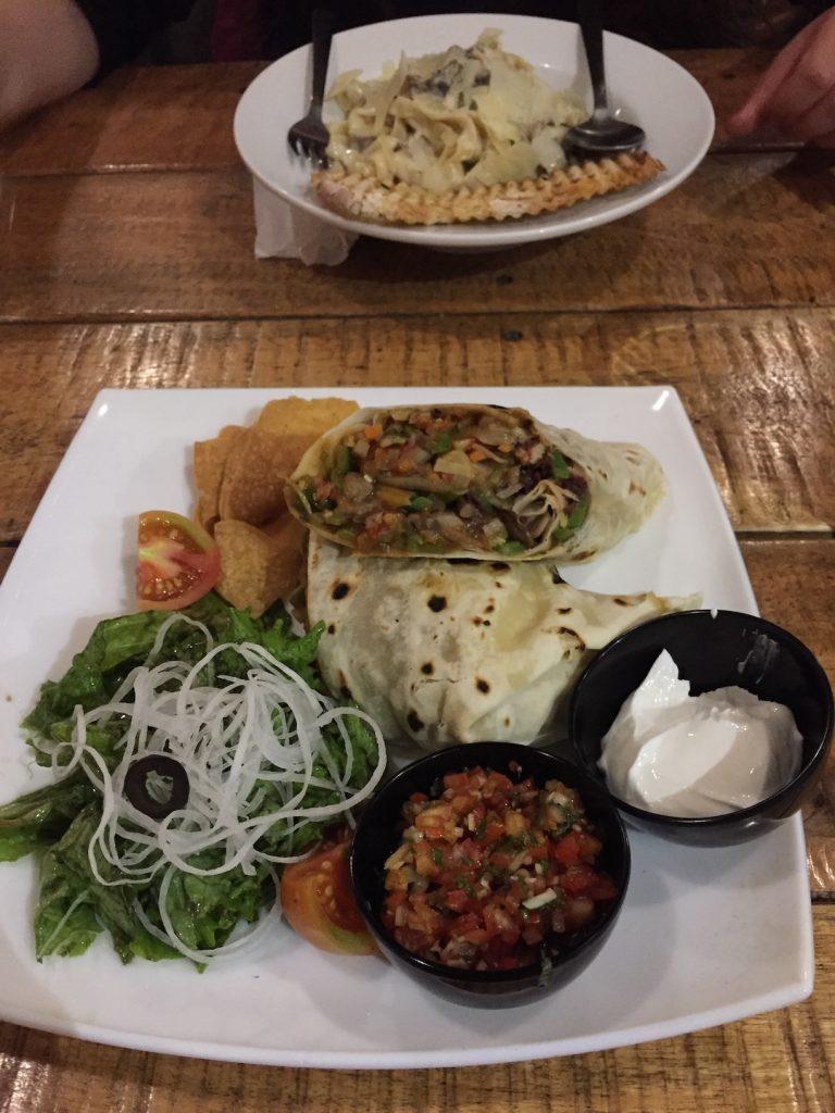 roadhouse cafe pokhara wrap burrito