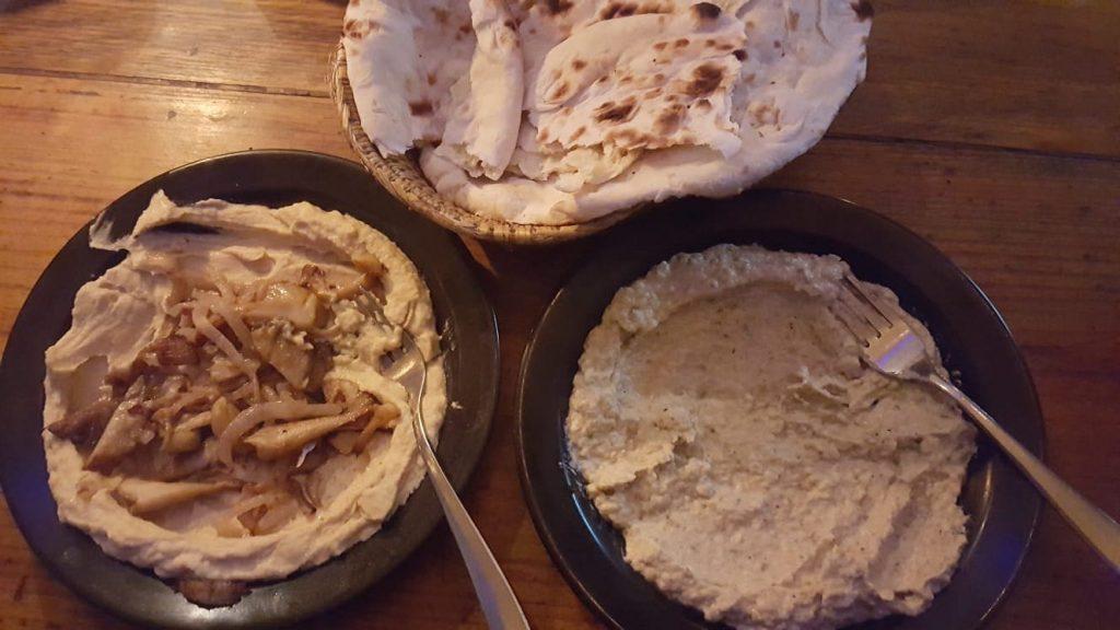 OR2K hummus and baba ganoush