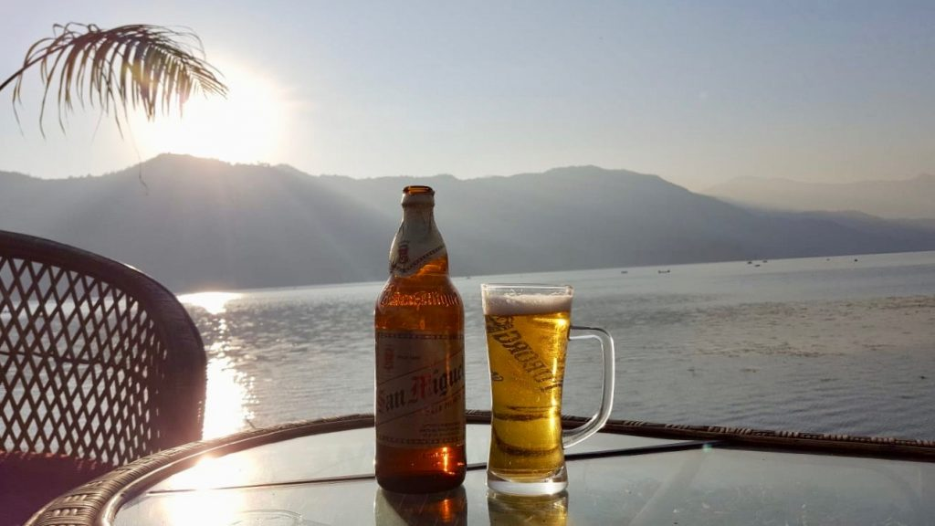 san miguel on lake fewa pokhara lakeside