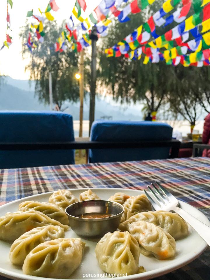 momo prayer flags lakeside pokhara