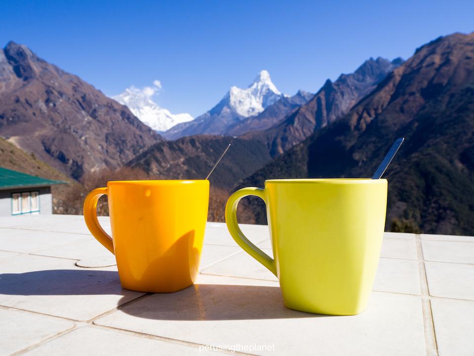 masala chai and ama dablam