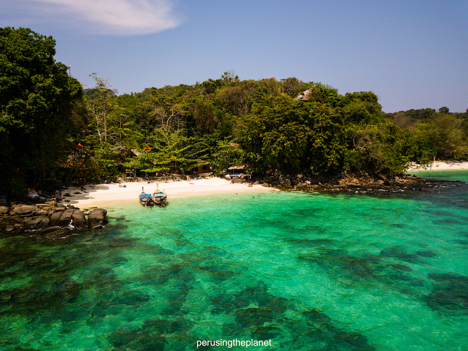 thailand island koh phi phi viking beach