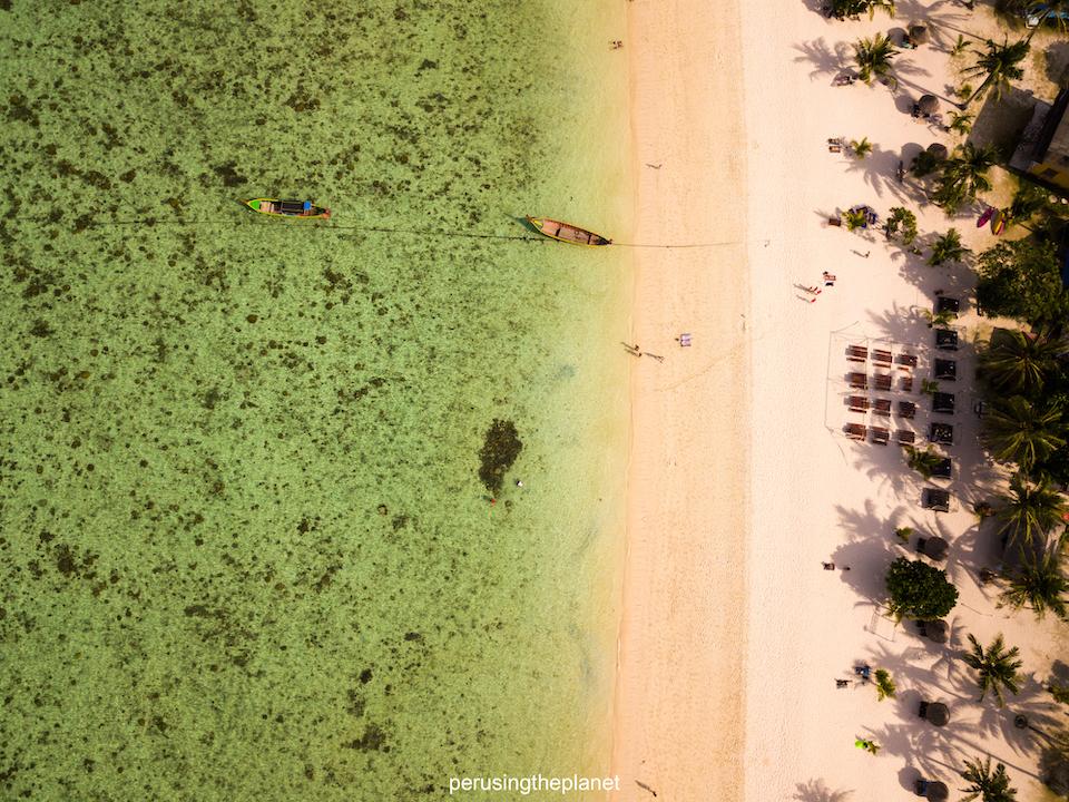 koh lipe thailand drone shot