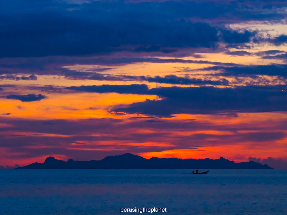 sunset on thailands best islands
