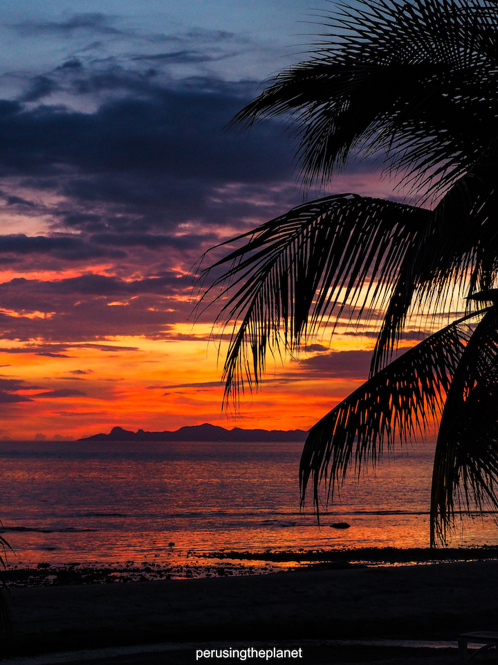 koh samui sunset thailand island