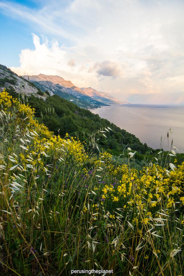 road trip around europe crotatian coast