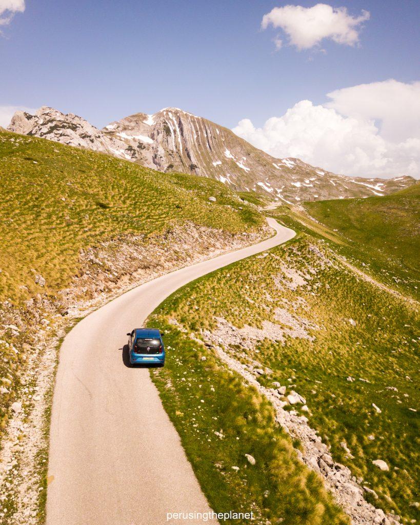 european road trip montenegro