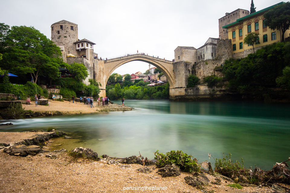 europe road trip mostar bridge bosnia