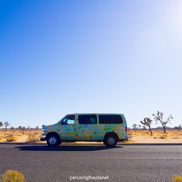 road trip around california