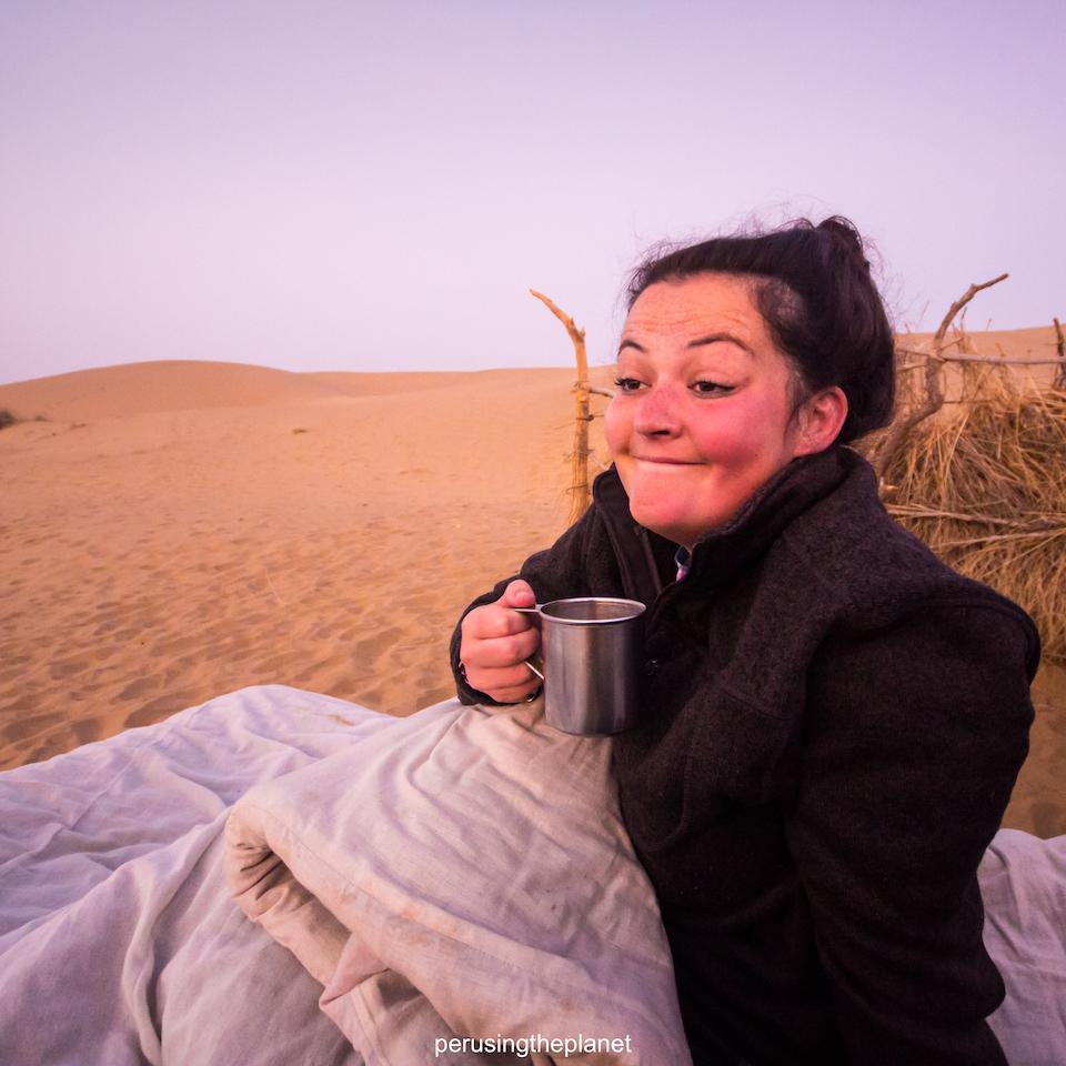 jaisalmer camel safari desert tour sunrise