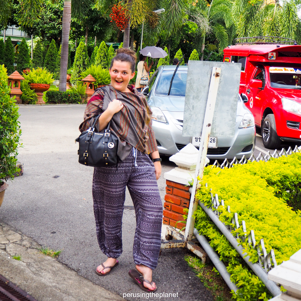 elephant pants in chiang mai, things to bring traveling