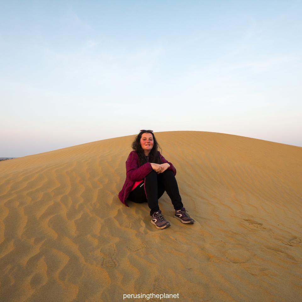 india sand dunes thar desert