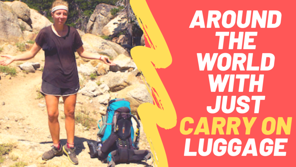 how to travel with carry on luggage