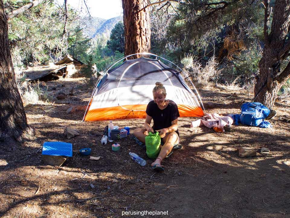 wild camping california