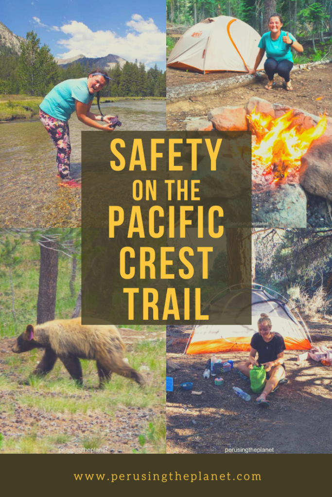 pacific crest trail hike safety