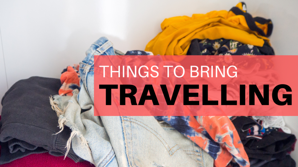 things to bring backpacking