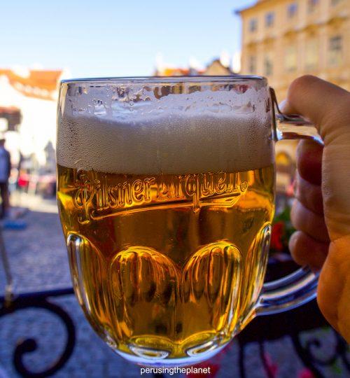 prague beer pilsner urquell