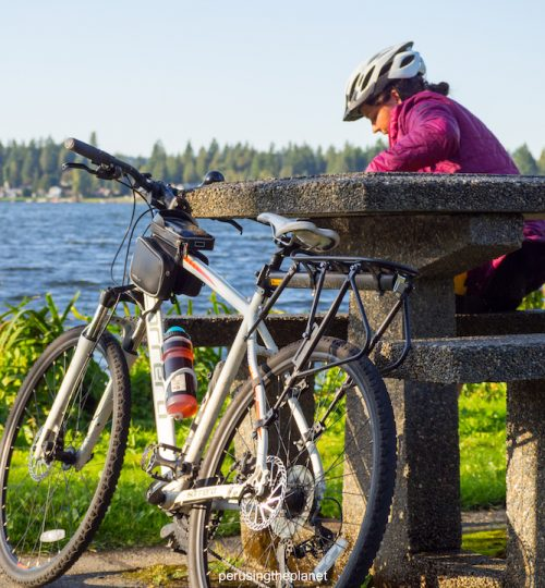 bike touring washington