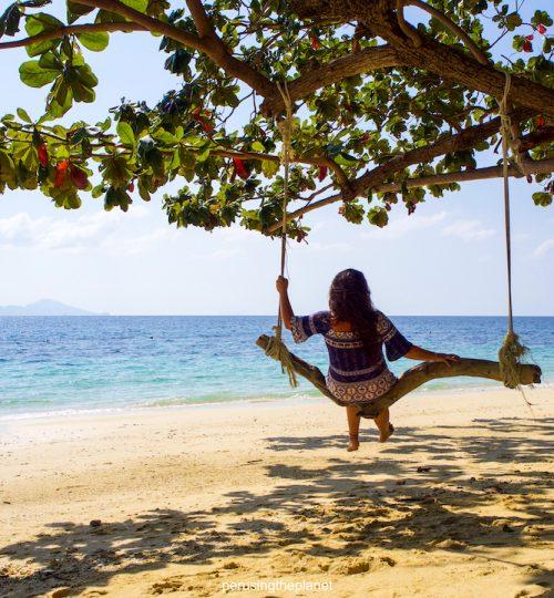 thailand beach swing koh kradan