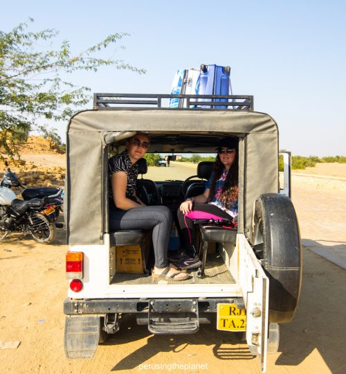 india desert tour jeep