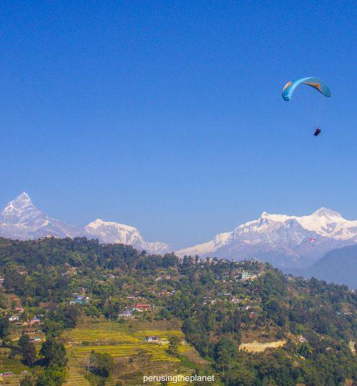 paragliding annapurna