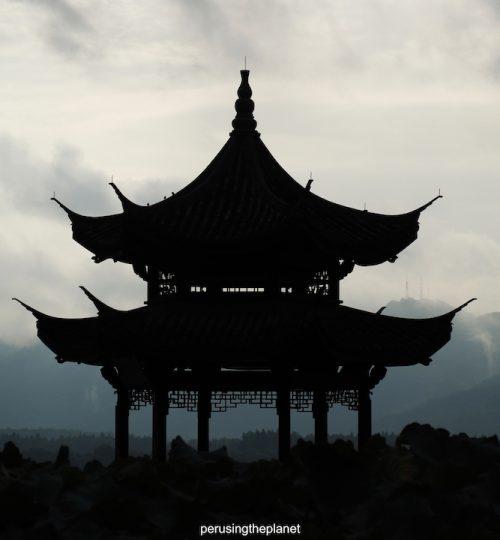 china stupa hangzhou west lake